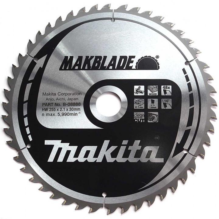Диск пильный Makita MAKBlade 255x30 48T (B-08888)