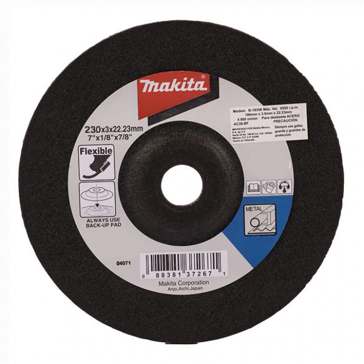 Шлифовальный круг по металлу гибкий 230 мм Makita (B-18409)