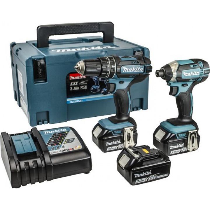 Набор аккумуляторных инструментов Makita DLX2131JX1