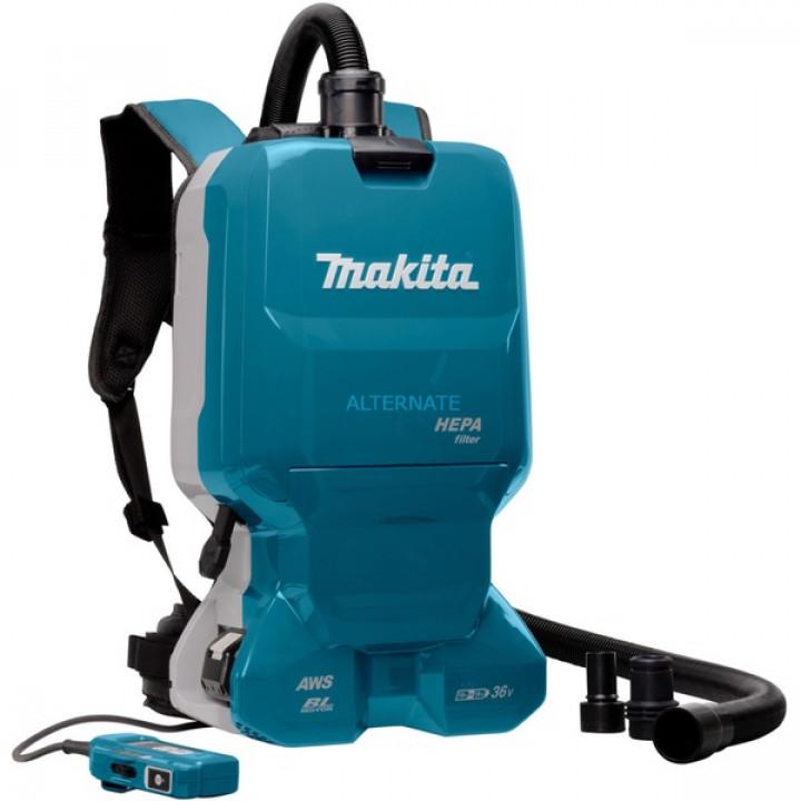 Пылесос-рюкзак бесщеточный аккумуляторный Makita DVC665Z
