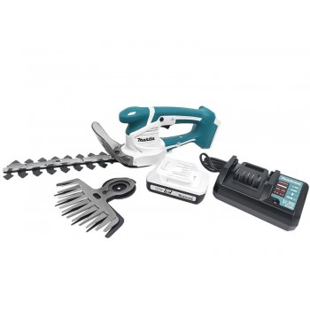 Ножницы для травы аккумуляторные Makita UM110DWYX с 2 лезвиями, аккумулятором и ЗУ