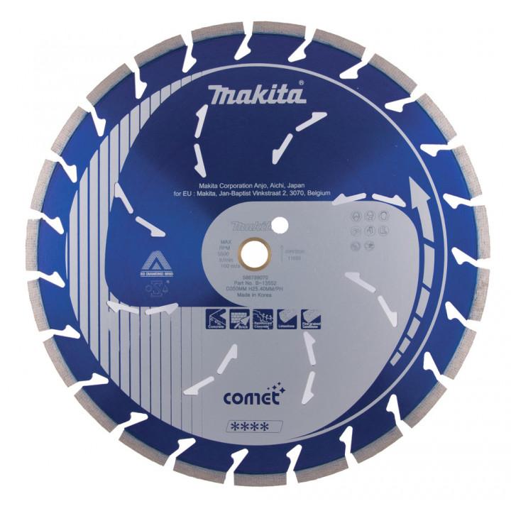 Диск алмазный 350 мм Makita Comet Rapide (B-13552)