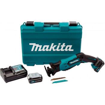 Сабельная аккумуляторная пила Makita JR103DWAX6 с 2 аккумуляторами, ЗУ, пильными полотнами и кейсом