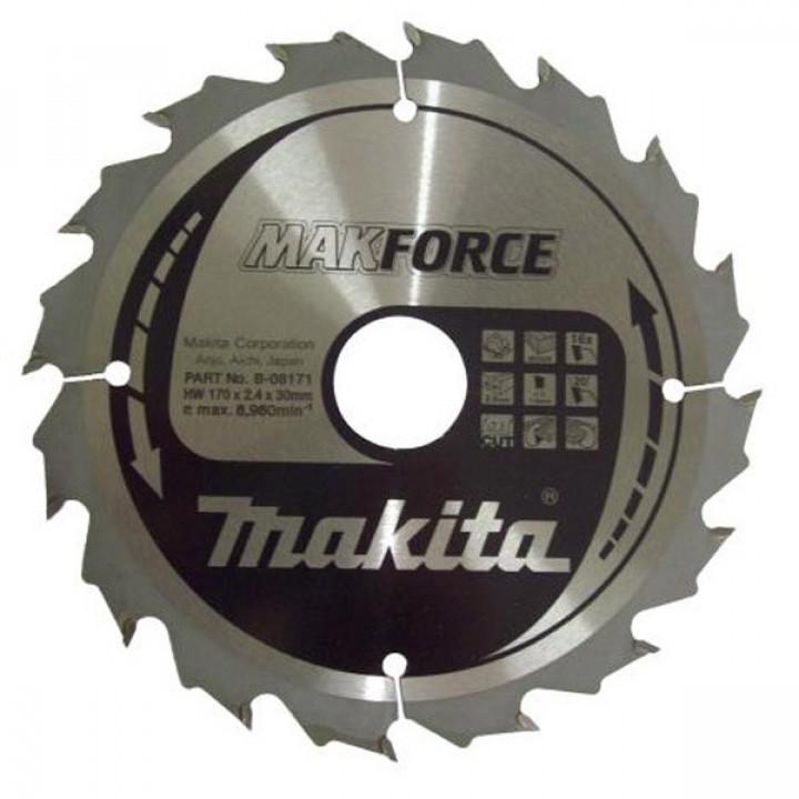Диск пильный Makita MForce 170 мм 16 зубьев (B-08171)