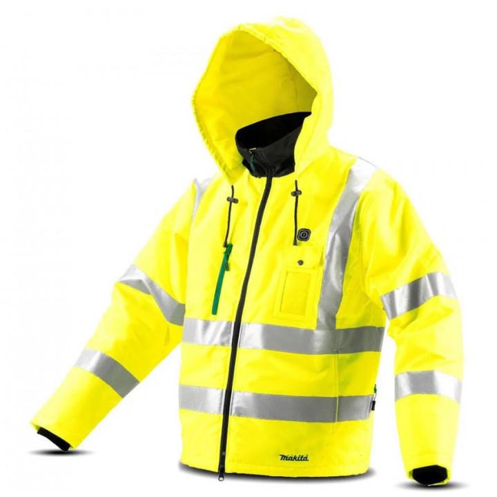Куртка аккумуляторная с подогревом Makita CJ106DZ (CJ106DZXL)