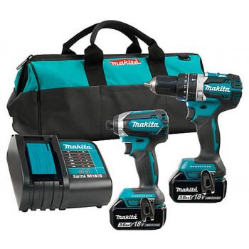 Набор инструментов Makita DLX2220 с 2 аккумуляторами, ЗУ и сумкой