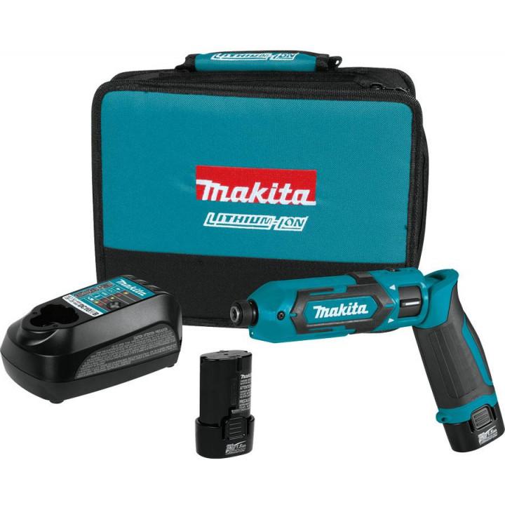 Ударная аккумуляторная отвертка Makita TD022DSE с аккумулятором, ЗУ и сумкой