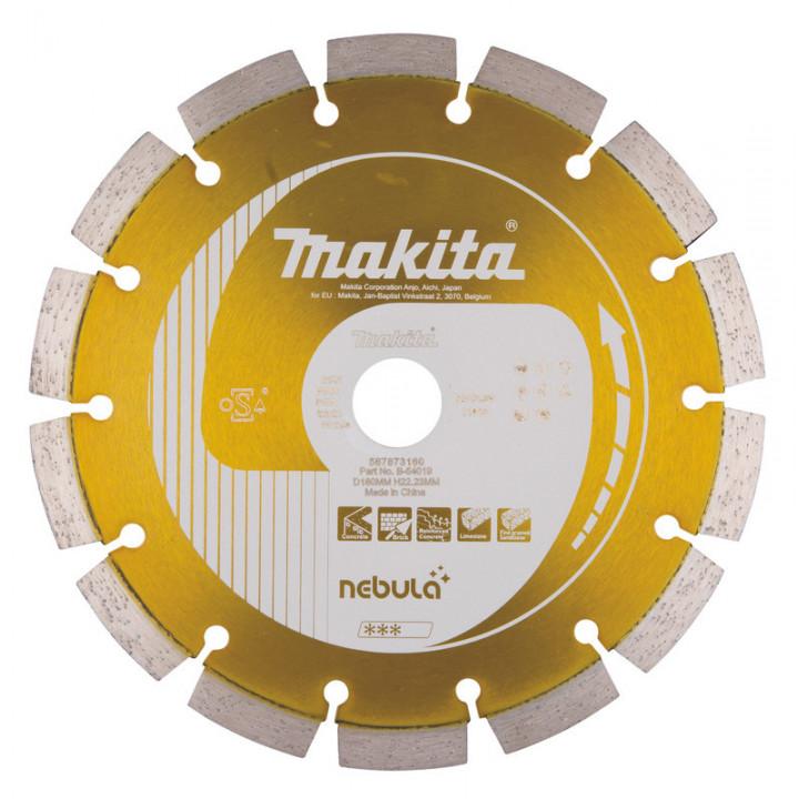 Диск алмазный по железобетону 180 мм Nebula (B-54019)