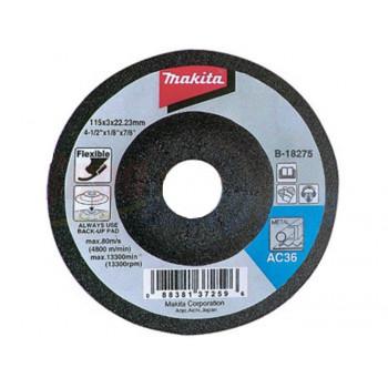 Шлифовальный круг по металлу гибкий 115 мм Makita (B-18275)