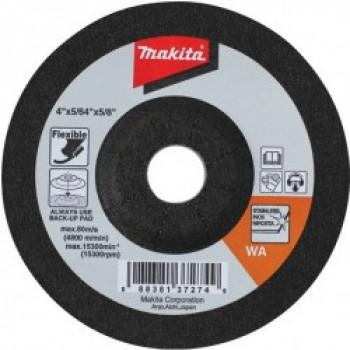 Шлифовальный круг по нержавеющей стали гибкий 100 мм Makita (B-18471)