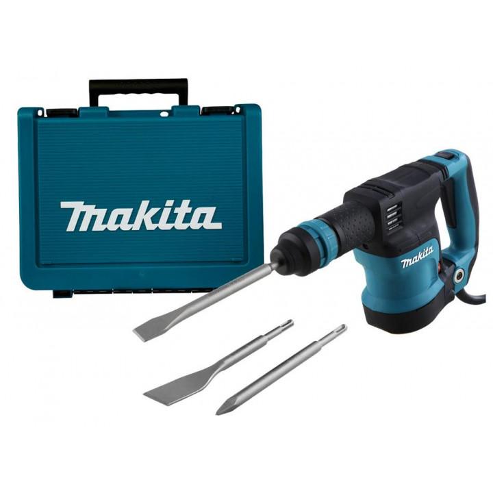 Молоток отбойный Makita HK1820 с 3 зубилами и кейсом