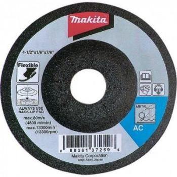 Шлифовальный круг по металлу гибкий 125 мм Makita (B-18340)