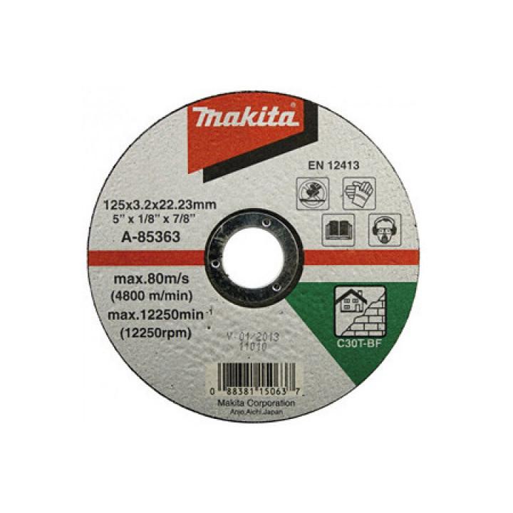 Диск плоский отрезной для кирпича Makita 125 мм (A-85363)