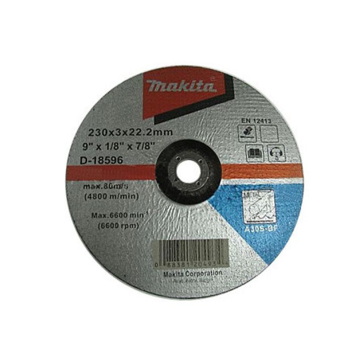 Диск вогнутый отрезной по металлу Makita 230 мм (D-18596)