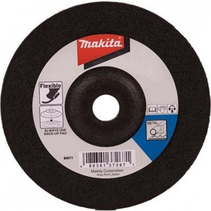 Шлифовальный круг по металлу гибкий 180 мм Makita (B-18378)