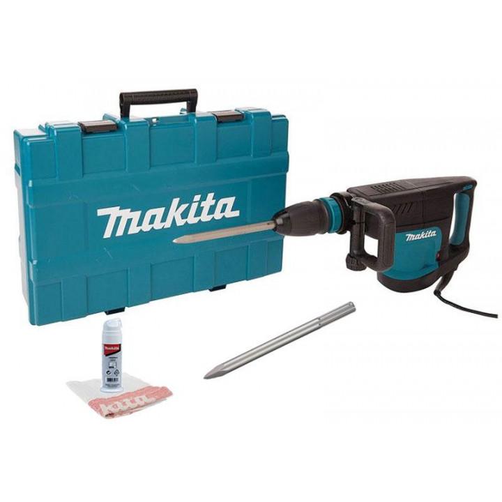 Молоток отбойный Makita HM1203C со смазкой, зубилом, салфеткой и кейсом